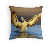 """ Wings Ahoy "" Marlo Vic. Throw Pillow"