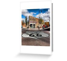 Winslow, Arizona - Route 66 Greeting Card