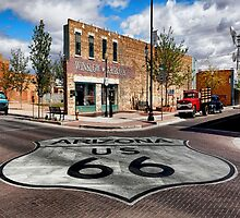 Winslow, Arizona - Route 66 by Warren Paul Harris