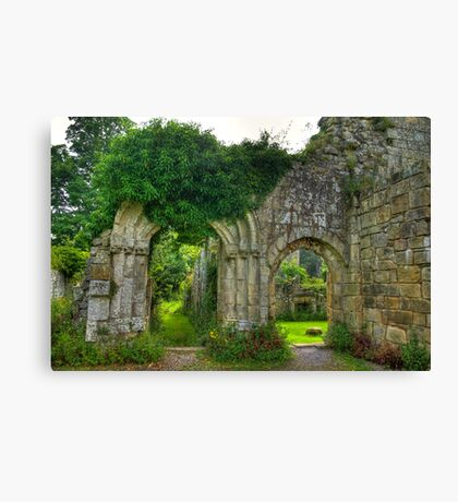 Ruined Doorway Canvas Print