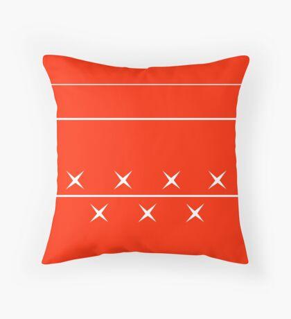 Schumacher Helmet Throw Pillow