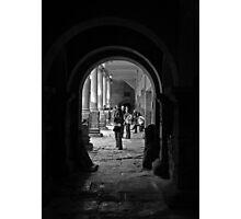 bath shadows Photographic Print