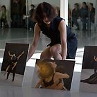 Sonia Mota dancing at the vernissage by miro65