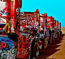 Cadillac Ranch by Warren Paul Harris