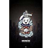The Ghostbusters Illustration Photographic Print