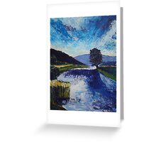 River Wharfe, Burnsall, Yorkshire Dales Greeting Card