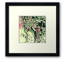 Cubic Olympic Framed Print