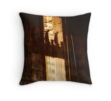 Ghostly builders Throw Pillow