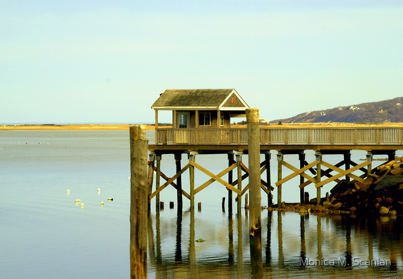 Reflections of the Boathouse by Monica M. Scanlan