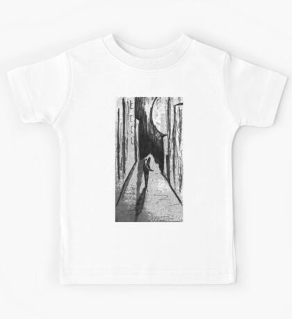 The girl with the guitar Kids Tee