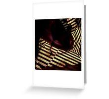 stripey daze Greeting Card