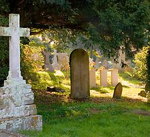 All Saints Churchyard by Geoff Carpenter