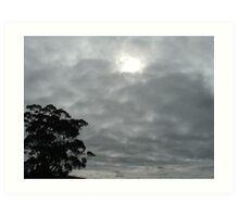 Grey Sky Art Print