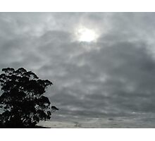 Grey Sky Photographic Print