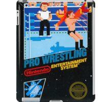 NES PRO WRESTLING iPad Case/Skin