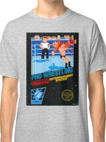 NES PRO WRESTLING Classic T-Shirt