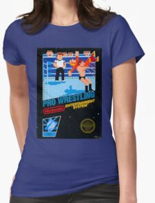 NES PRO WRESTLING Womens Fitted T-Shirt