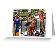 RED INDIANS ?? Greeting Card