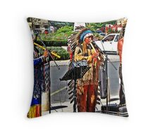 RED INDIANS ?? Throw Pillow