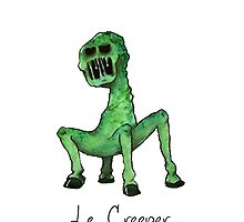 Le Creeper Phone Case by Kochopia