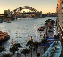 HDR,Bridge, Circular Quay , Sydney, Australia by Kamran Baig
