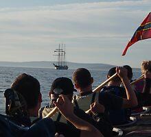 Oosterschelde Ahoy! by Fiona MacNab