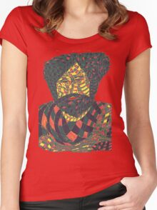 Jerry Garcia 6 Women's Fitted Scoop T-Shirt