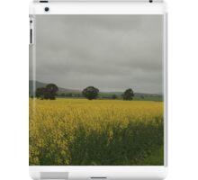 Sea of canola, South of Auburn,2013 iPad Case/Skin
