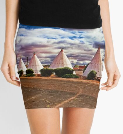 Route 66 Wigwam Motel Mini Skirt