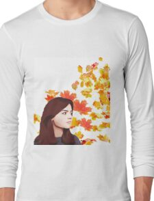 Clara Oswald: Impossible Girl Long Sleeve T-Shirt