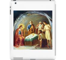 Jerusalem Nativity Scene iPad Case/Skin
