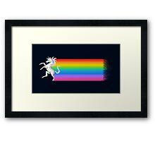 Unicorn Chaser Framed Print