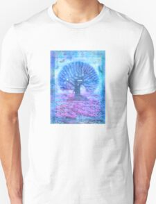 Tree of Life - pink and purple T-Shirt