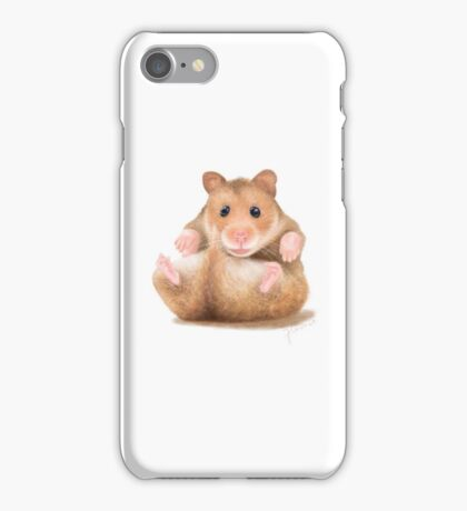 BABY HAMSTER WAITING FOR HUG iPhone Case/Skin