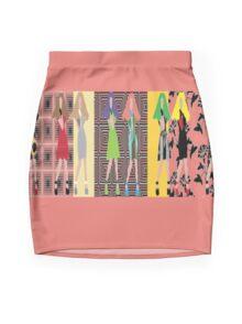 Living Dolls Mini Skirt