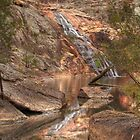 Woolshed Falls - Beechworth by David Hunt