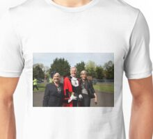 The Mayor of Bromley's Civic Service was held at St George's Chapel, Biggin Hill, to celebrate his year of office and to commemorate the 70th Anniversary of VE Day which ended WWll in Europe Unisex T-Shirt