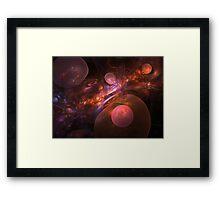 Tortured Universe Framed Print