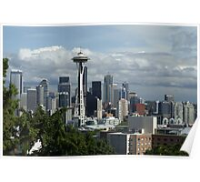 Seattle, Washington Skyline Poster