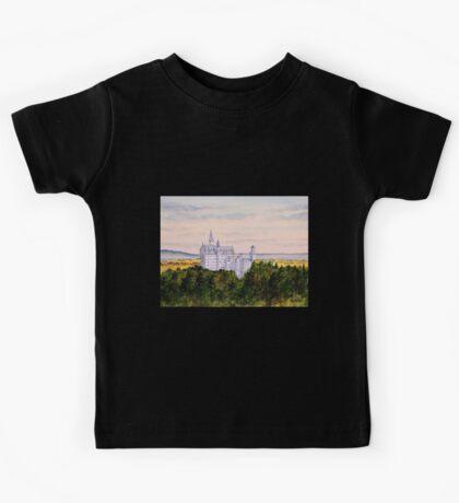 Neuschwanstein Castle Bavaria Germany Kids Tee