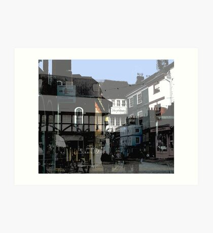 The Buttermarket Canterbury Art Print