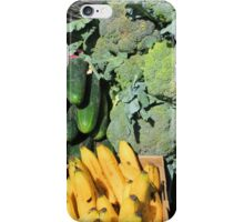 Fruits and Vegetables in Otavalo iPhone Case/Skin