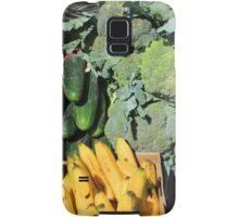 Fruits and Vegetables in Otavalo Samsung Galaxy Case/Skin