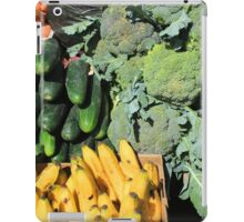 Fruits and Vegetables in Otavalo iPad Case/Skin