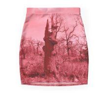 Red Tree Mini Skirt