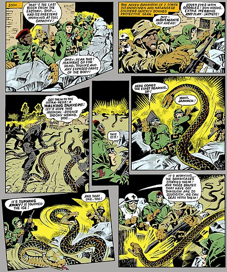 ACTION FORCE: JUNGLE TERROR P38 by morphfix
