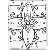 Tribal Flower 2 iPad Case/Skin