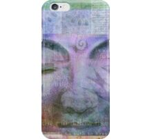 Meditation ZEN BUDDHA iPhone Case/Skin