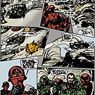 ACTION FORCE: RED JACKAL PAGE 8 COLOURED by morphfix