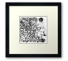 Robots are cool Framed Print